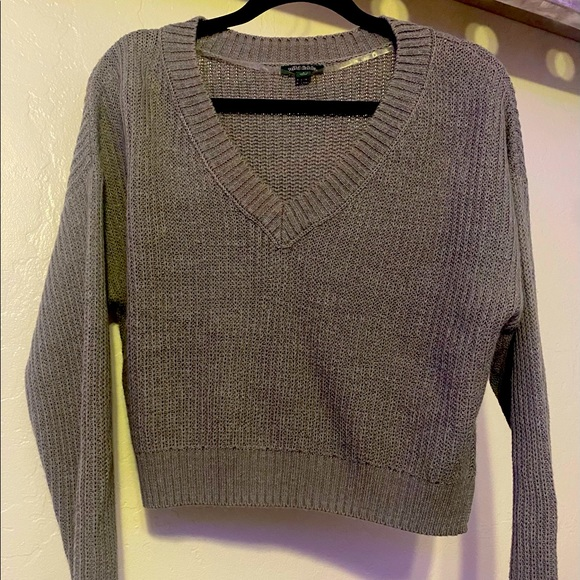 Wild Fable grey sweater.